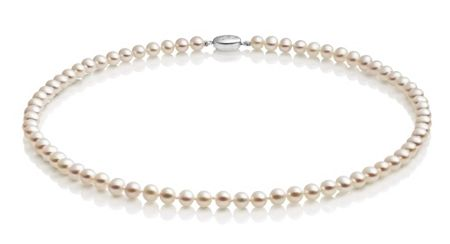 Jersey Pearl White small pearl necklace