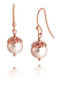 Jersey Pearl Freshwater Pearl Drop Earrings