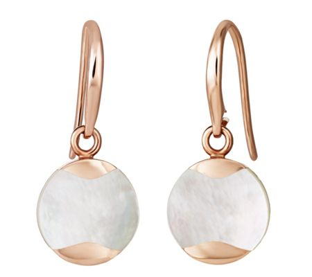 Jersey Pearl Dune Drop Earrings