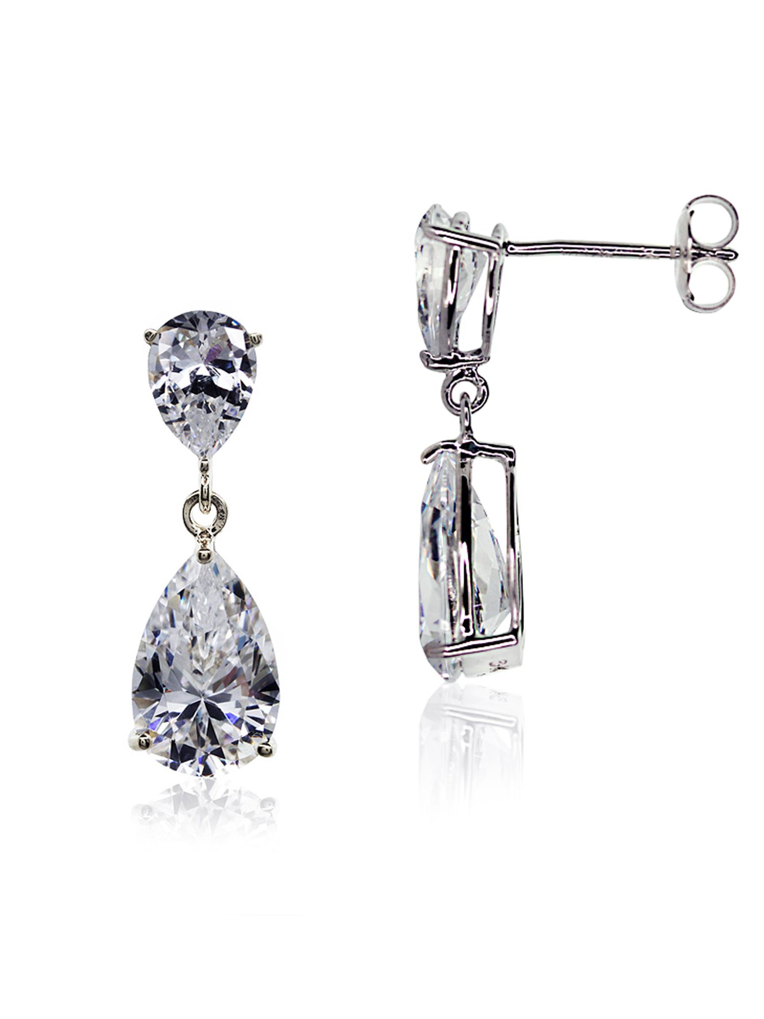 Classy Pear Drop Earrings
