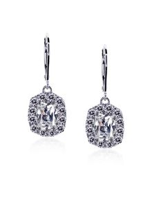 Oval Euro Fancy Drop Earrings