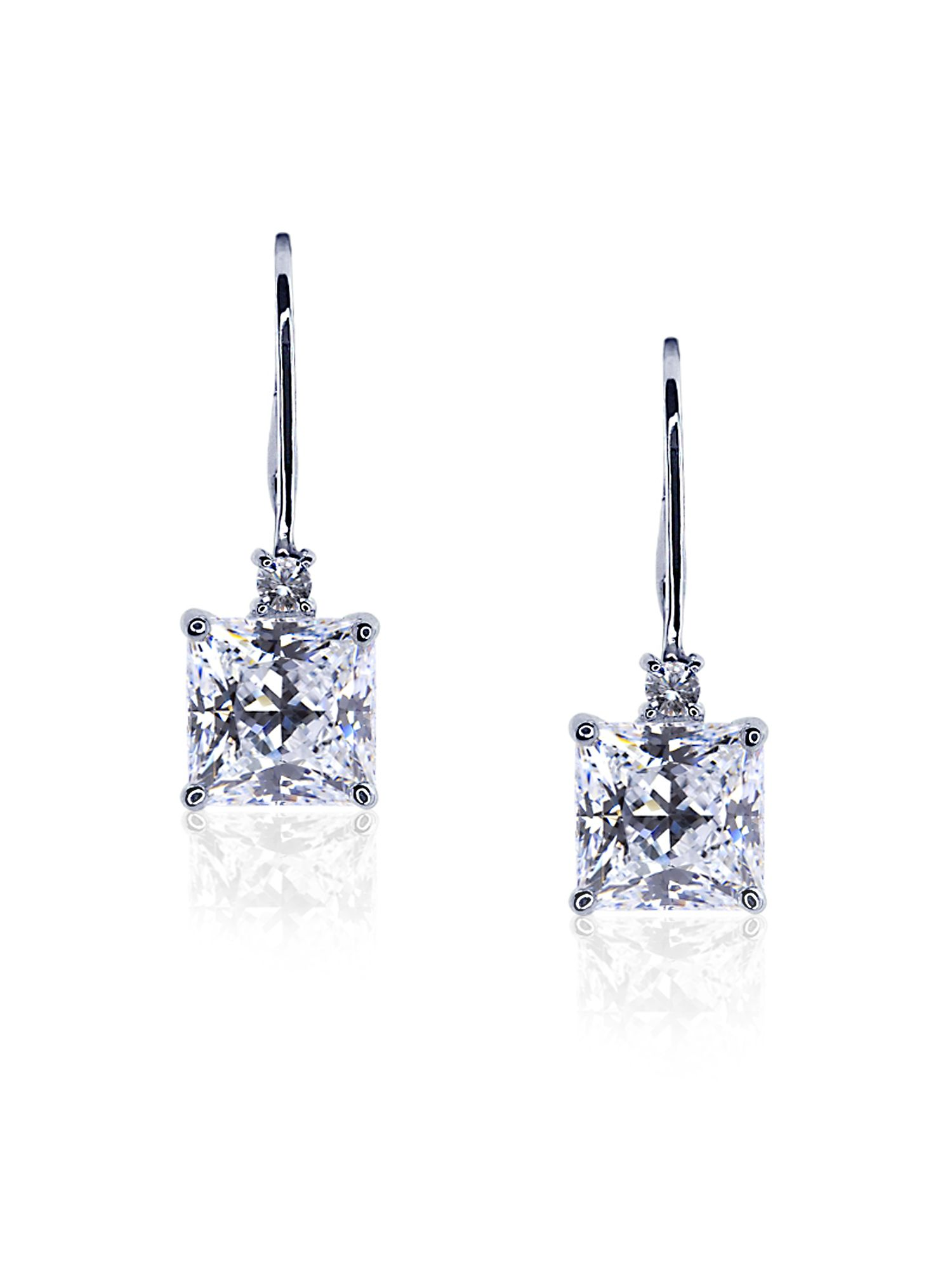 Princess Euro Fancy Drop Earrings