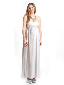 Rock-a-Bye Rosie Isla maternity evening maxi dress