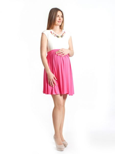 Rock-a-Bye Rosie Ellie maternity colourblock dress
