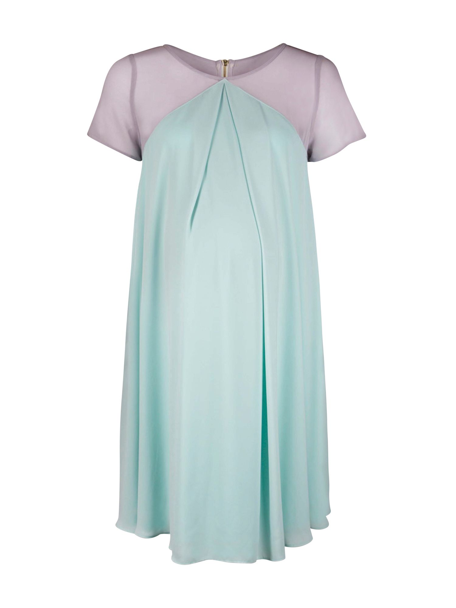 Vintage Maternity Clothing Styles 1910-1960 Rock-a-Bye Rosie Demi maternity swing dress £75.00 AT vintagedancer.com