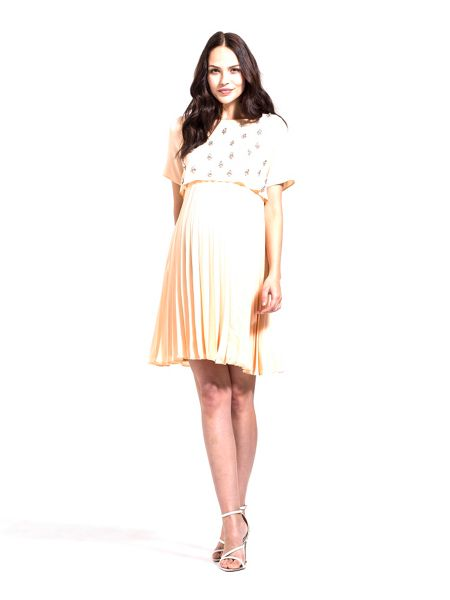 Rock-a-Bye Rosie Stardust jewel bodice maternity dress