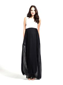 Rock-a-Bye Rosie Luella colourblock maternity maxi dress