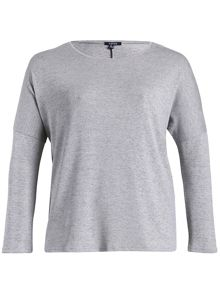 Round Neck Top in Fine Knit