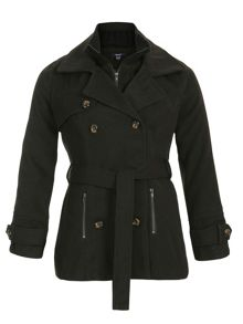 Samya Belted Double Breasted Coat