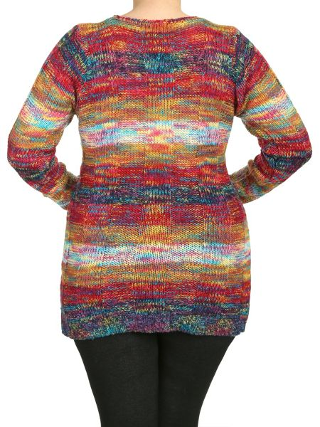 Samya Plus Size Double Front Pocket Pullover