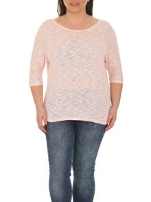 Plus Size Classic Textured Top