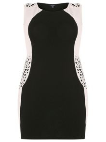 Samya Plus Size Cut-Out Detail Dress