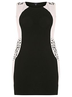 Plus Size Cut-Out Detail Dress
