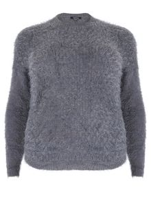 Long Sleeve Plain Knitwear Pullover