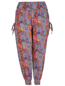 Samya Plus Size High Waist Moorish Harem Pants