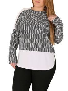 Samya Plus Size Raglan Top