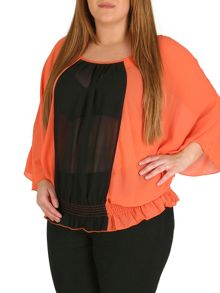 Samya Plus Size Vertical Stripe Top