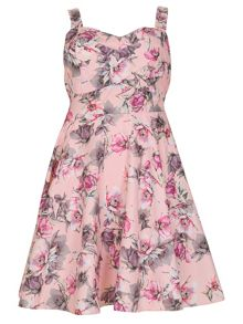Samya Plus Size Floral Dress