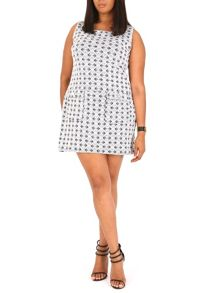 Samya Plus Size Pocketed Shift Dress