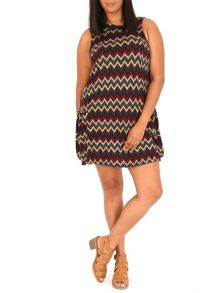 Samya Plus Size Knitted Swing Dress