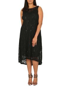 Samya Plus Size Lace Dress