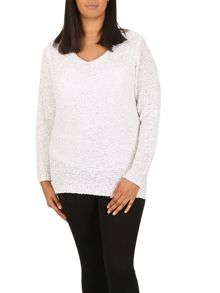 Samya Plus Size Sparkle Jumper