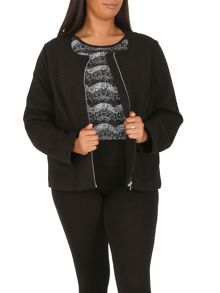 Samya Plus Size Fitted Jacket