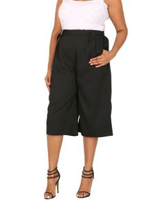 Samya Plus Size Culottes With D-Ring Belt