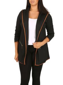 Samya Plus Size Waterfall Jacket