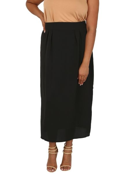 Samya Plus Size Tulip Skirt