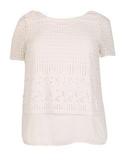 Plus Size Layered Top