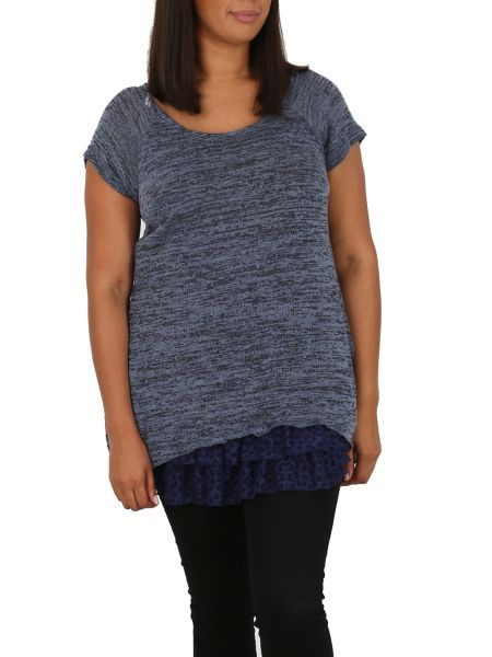Samya Plus Size Knit Tunic Top