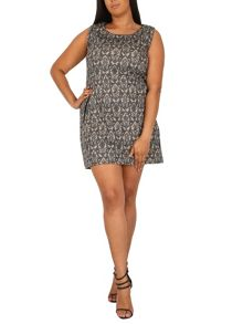 Samya Plus Size Sixties Inspired Shift Dress