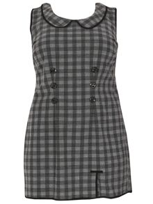 Samya Plus Size Check Shift Dress