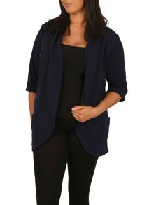 Samya Plus Size Blazer with Pockets