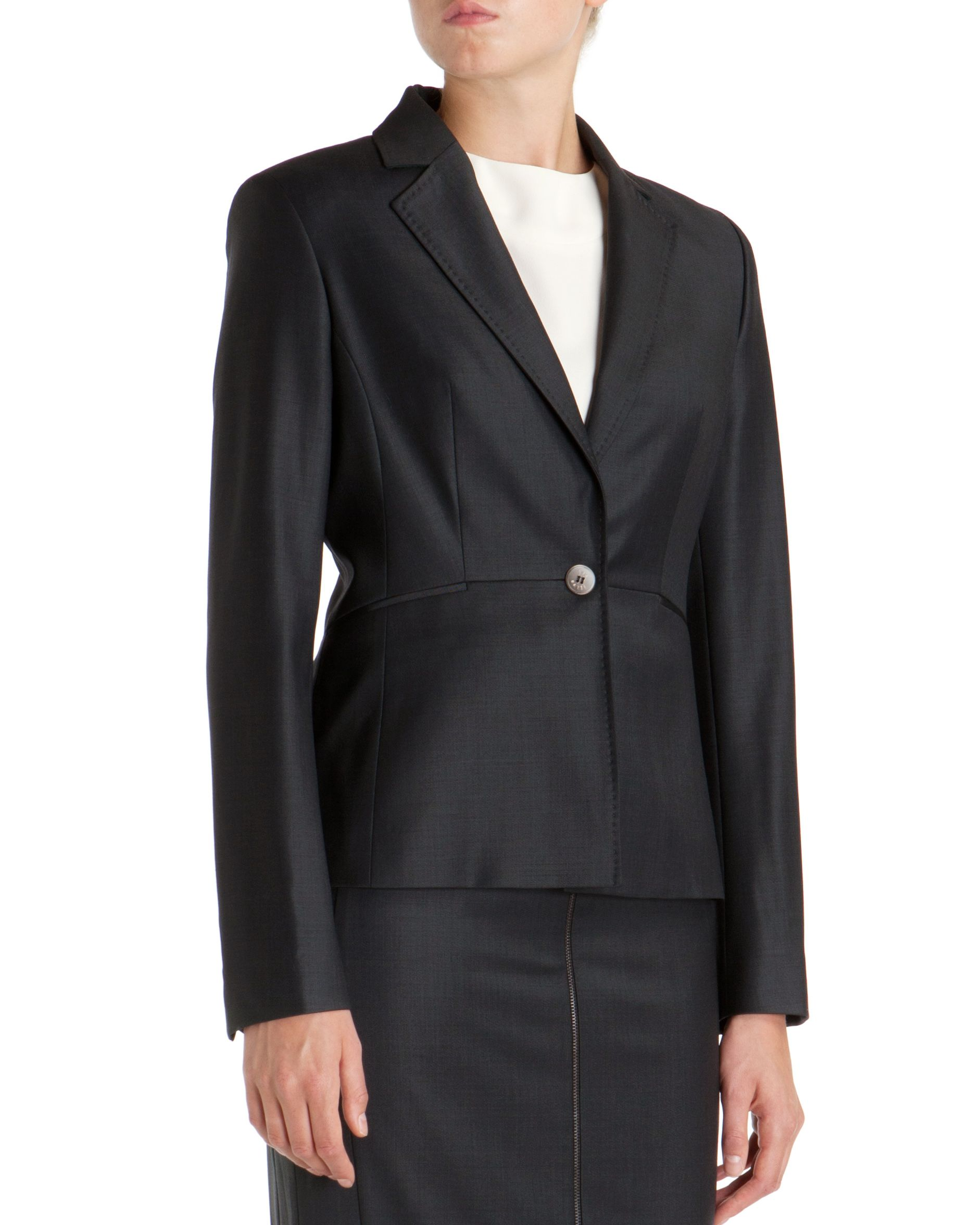 Edi tailored mohair suit jacket