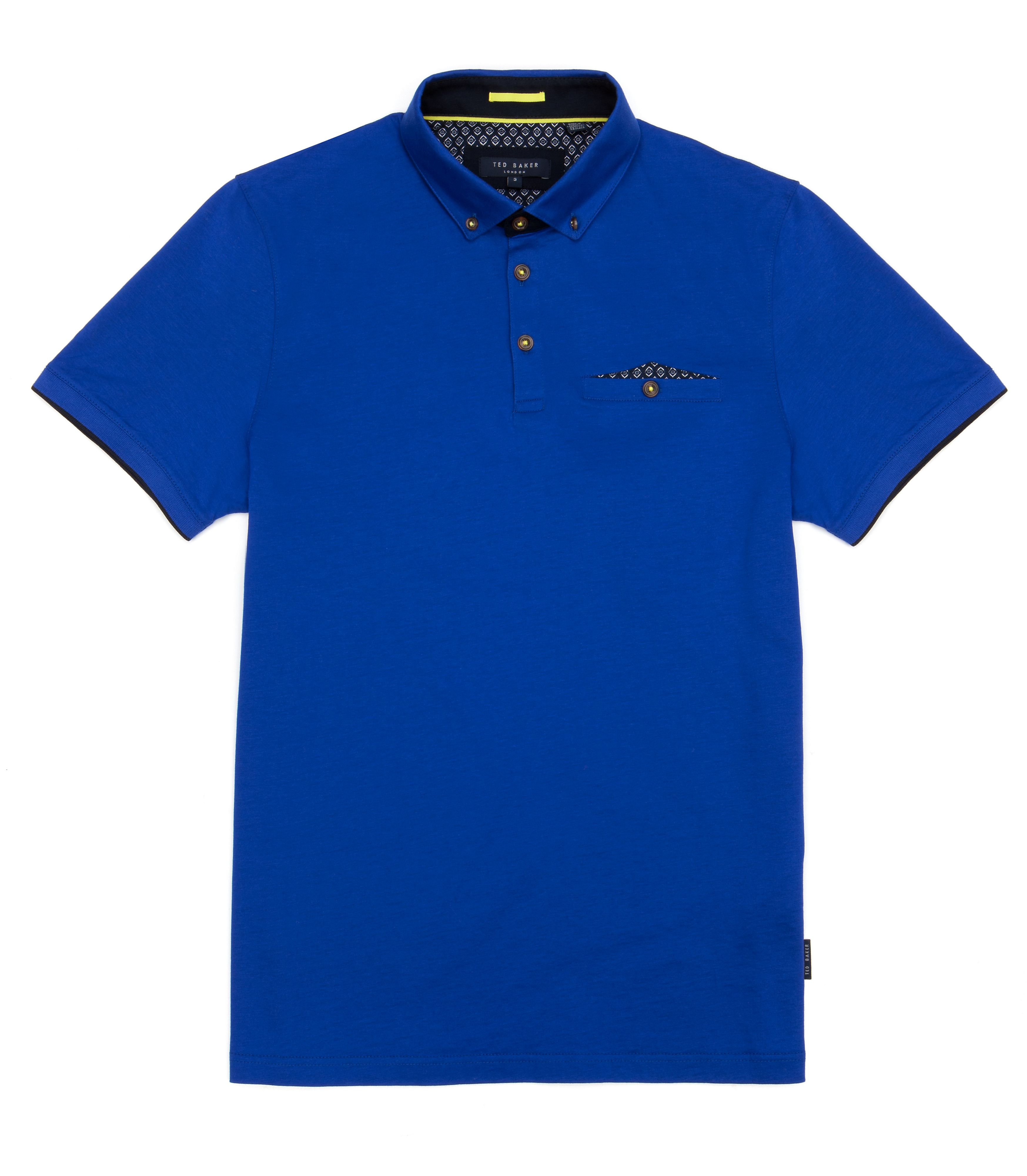 Skybar jersey polo top