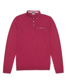 Fleamar long sleeve polo