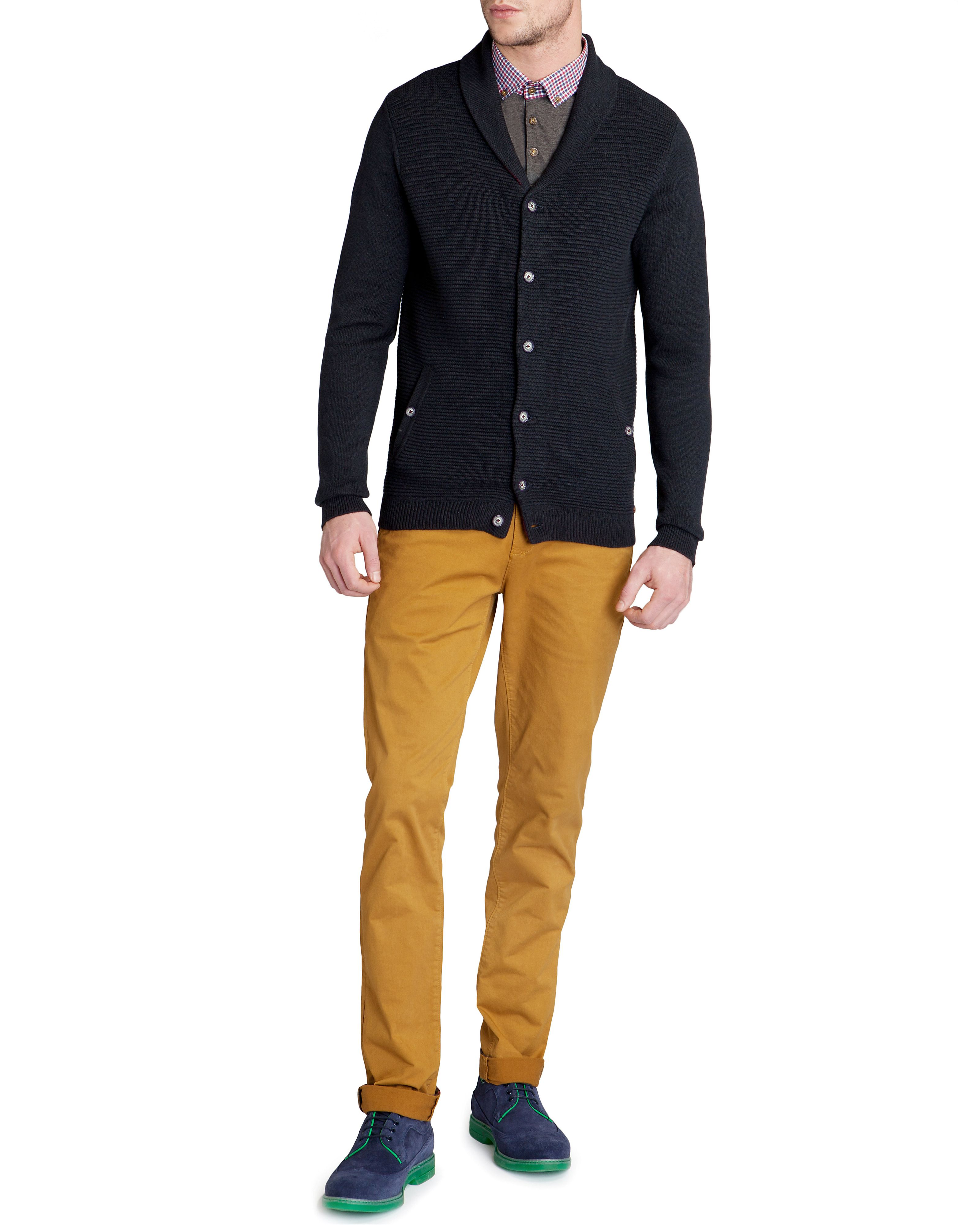 Emple shawl neck cardigan