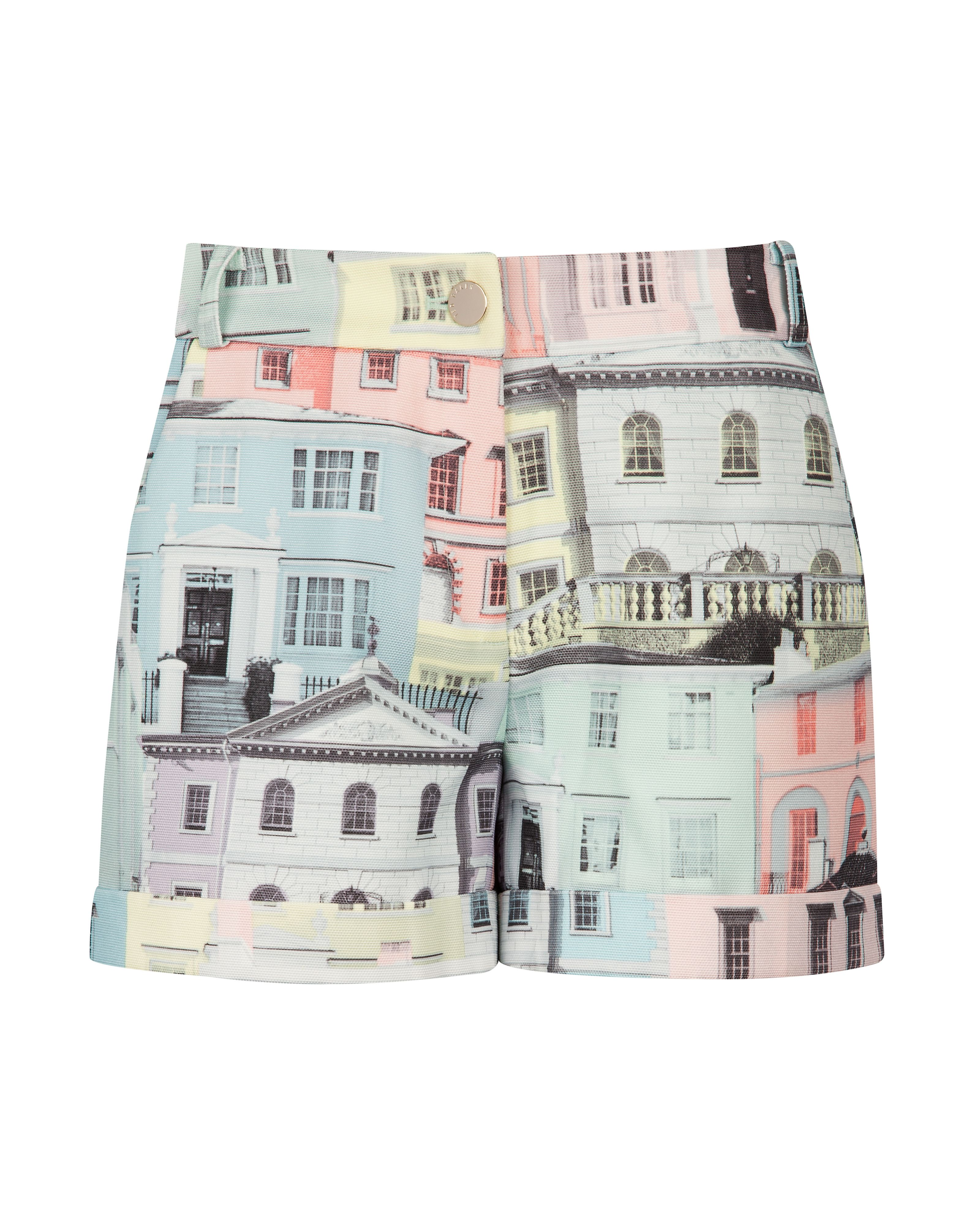 Lelah regency houses printed shorts