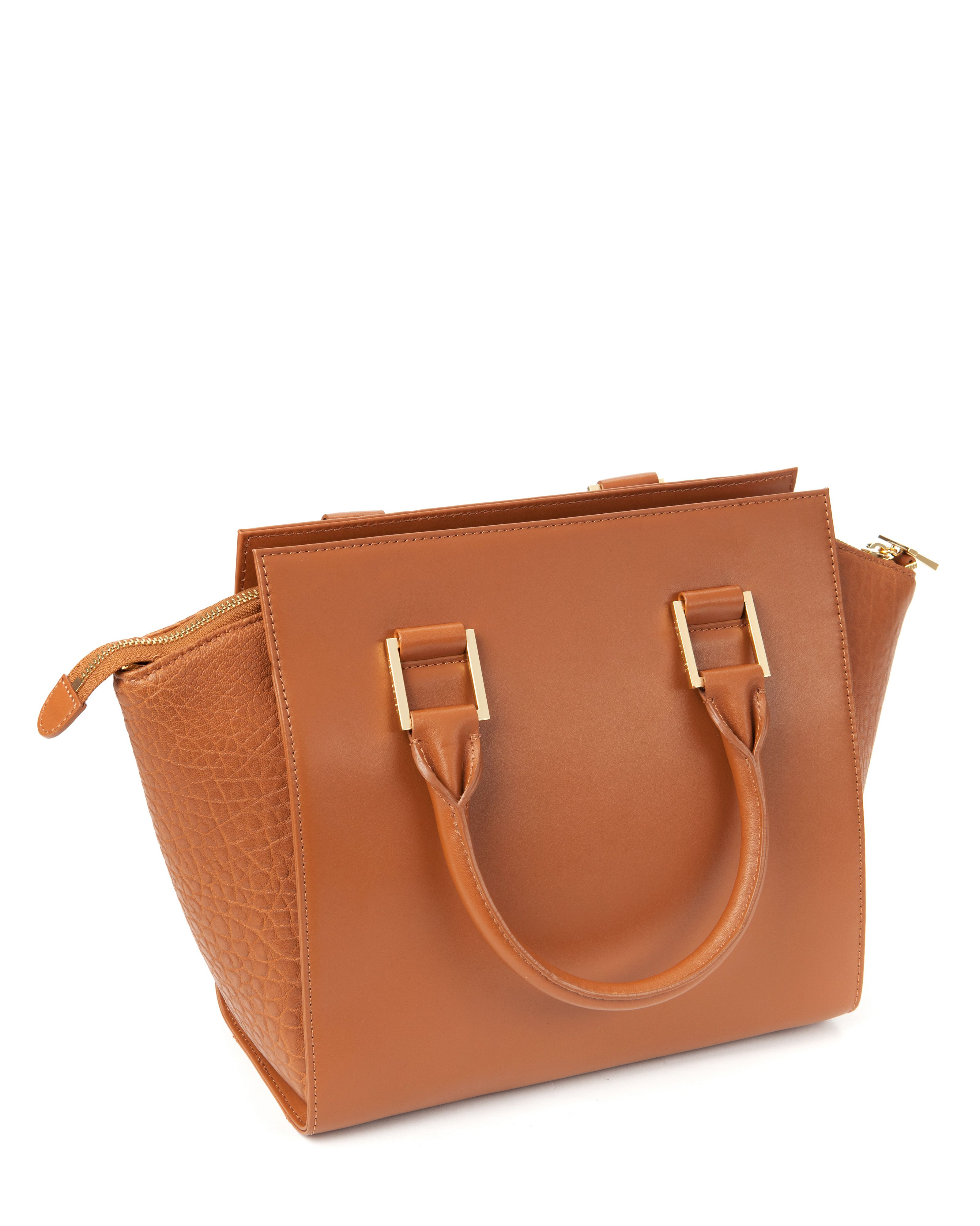 Layally leather tote bag