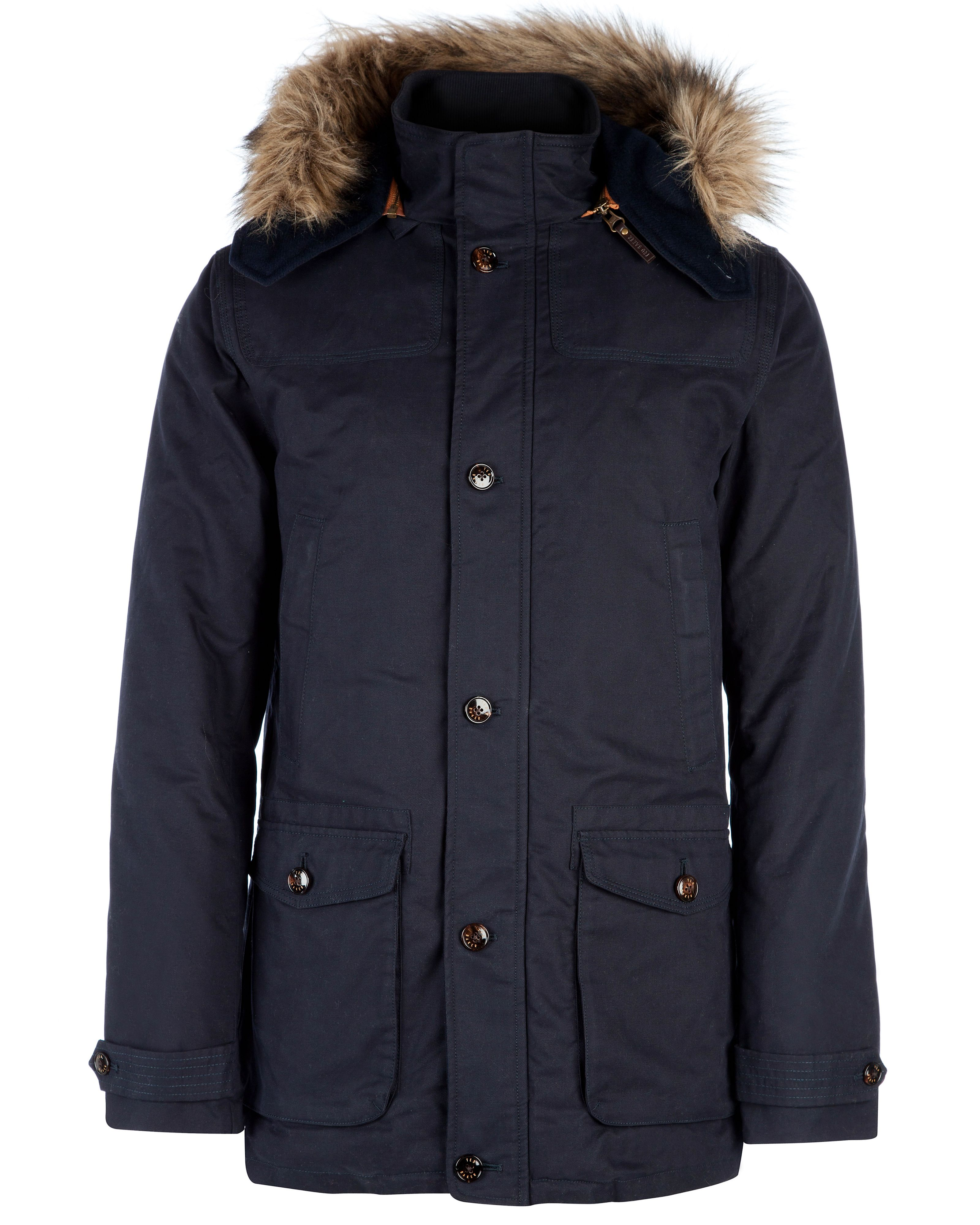 Wildery hooded parka