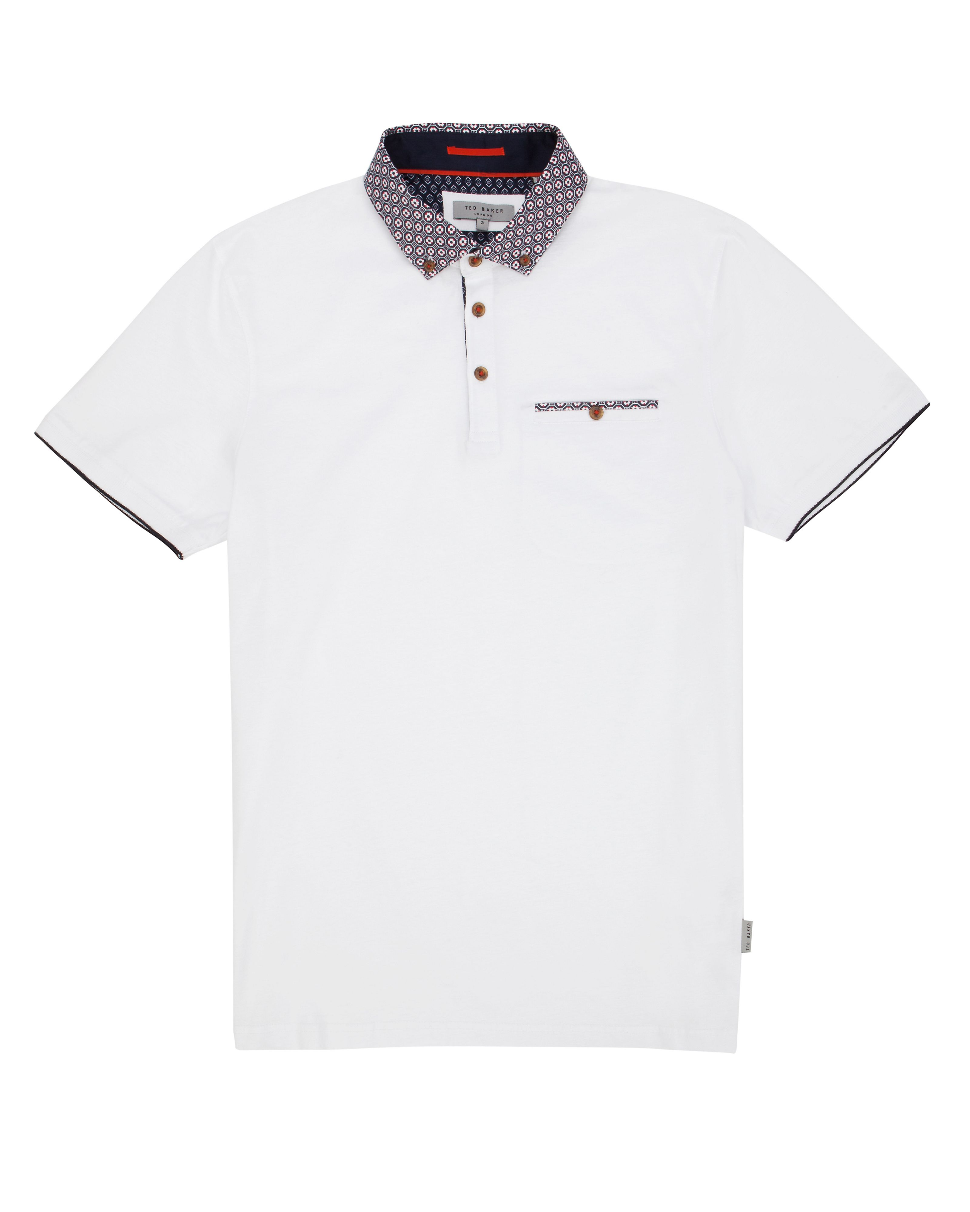 Goodwon floral polo shirt