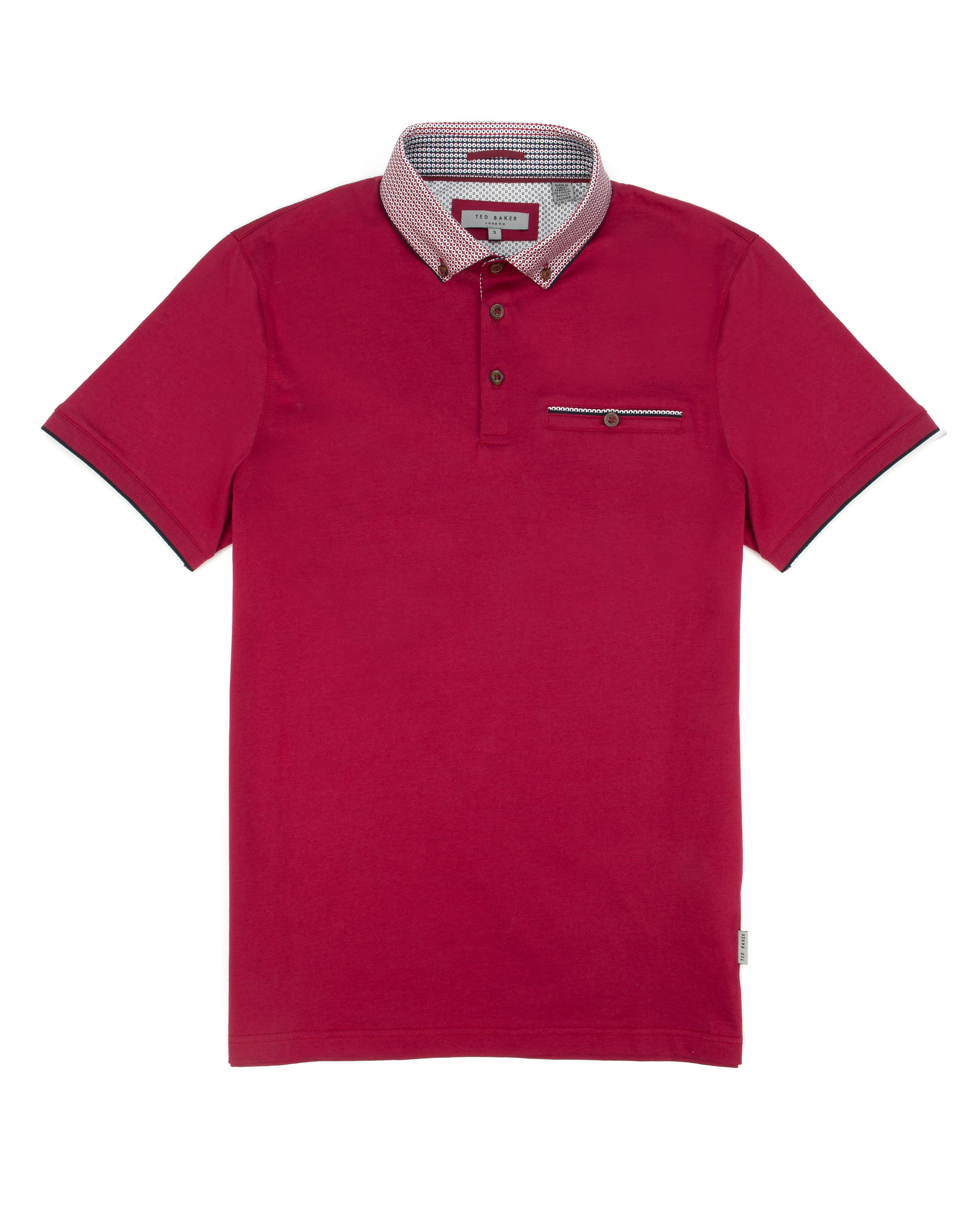 Jefferson short sleeve polo