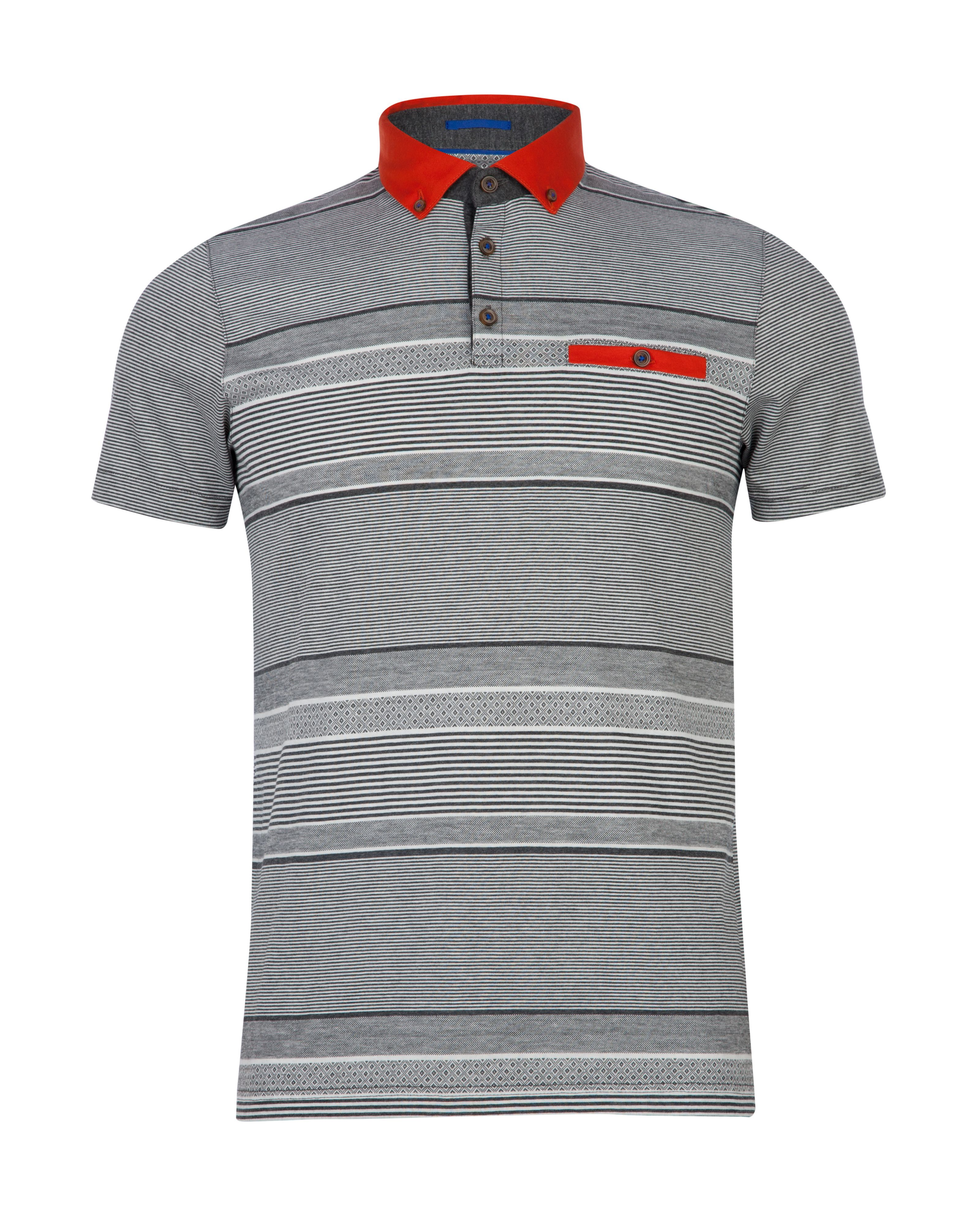 Pasdina striped polo shirt