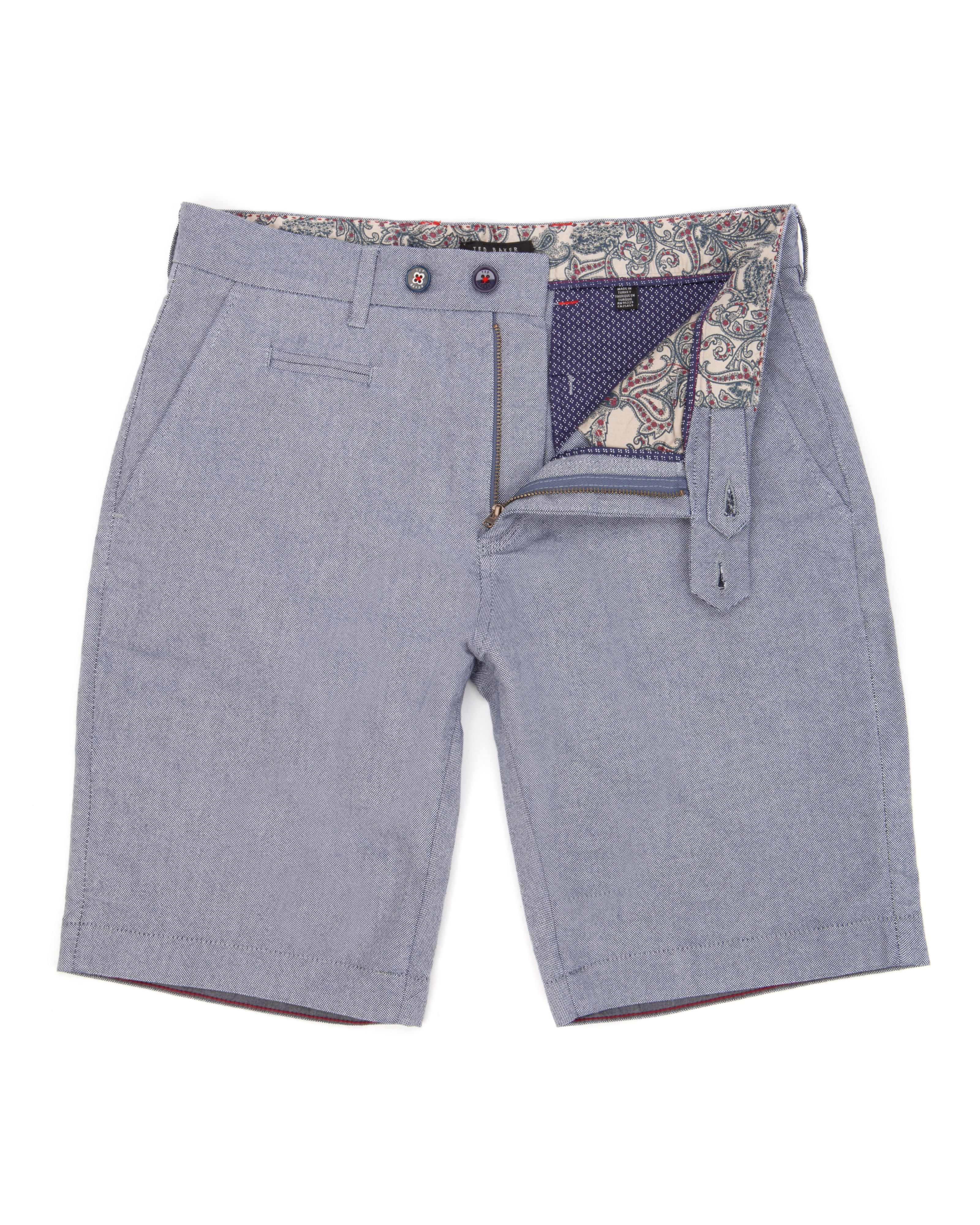 Oxshor cotton oxford shorts