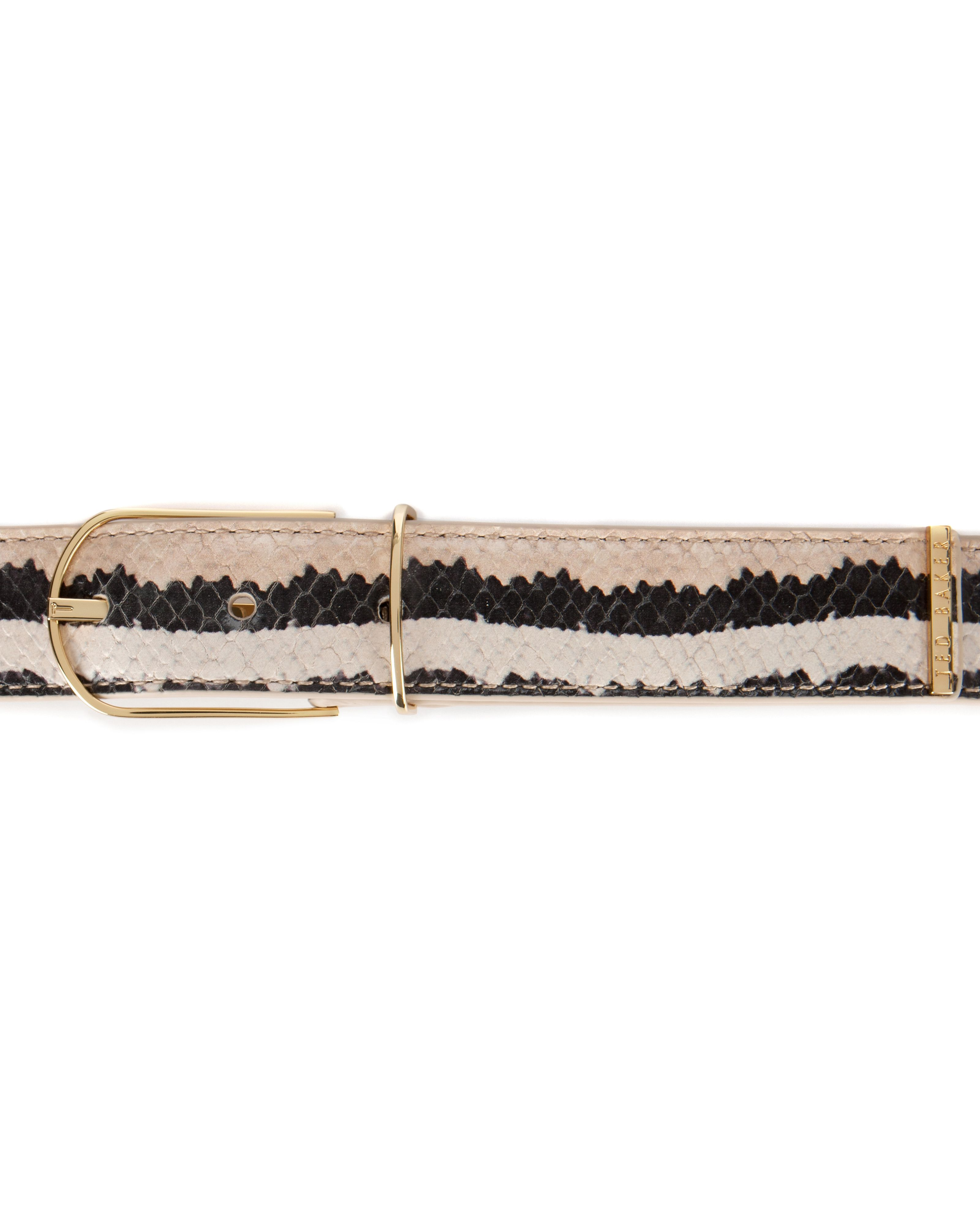 Peree exotic waist belt