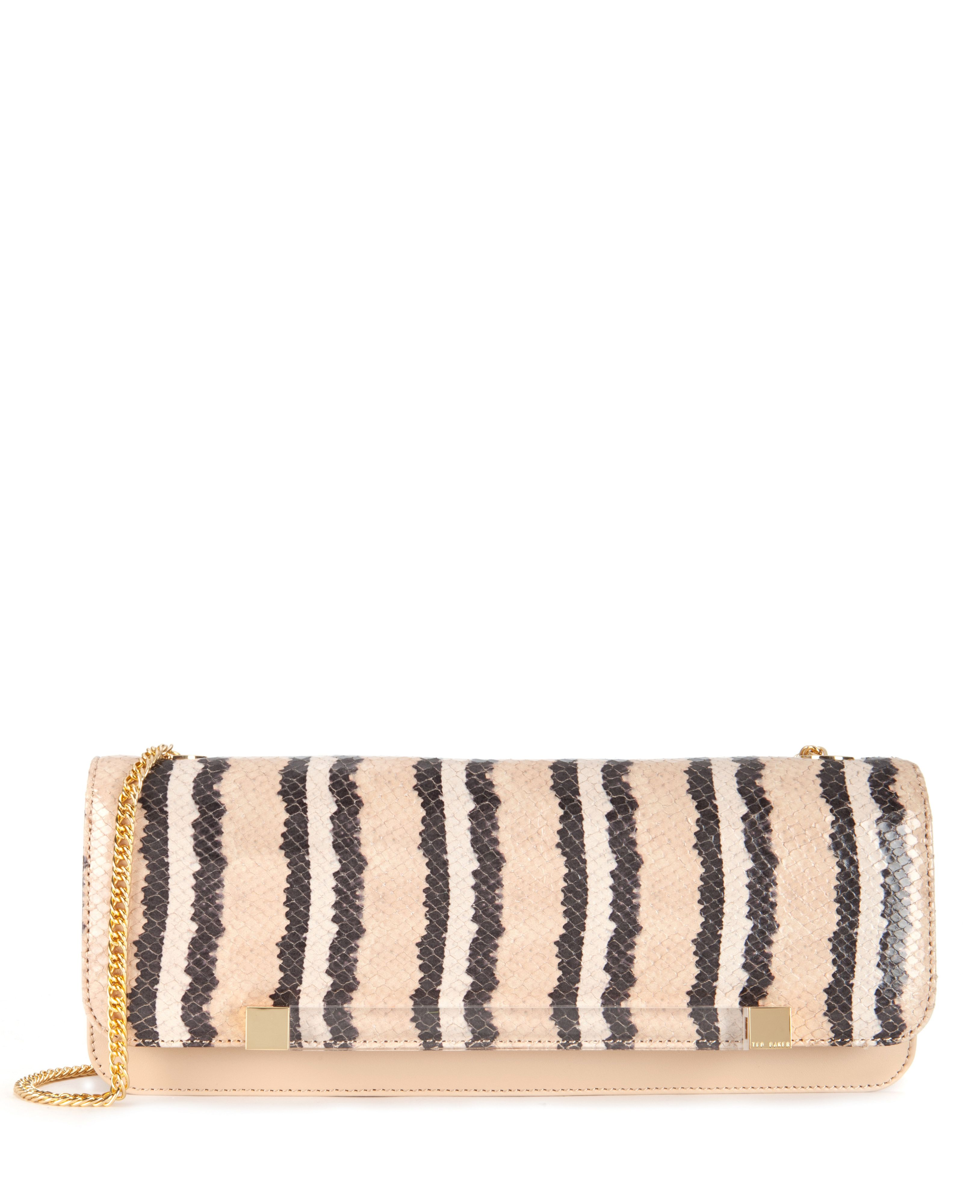 Lexies Exotic bar clutch bag
