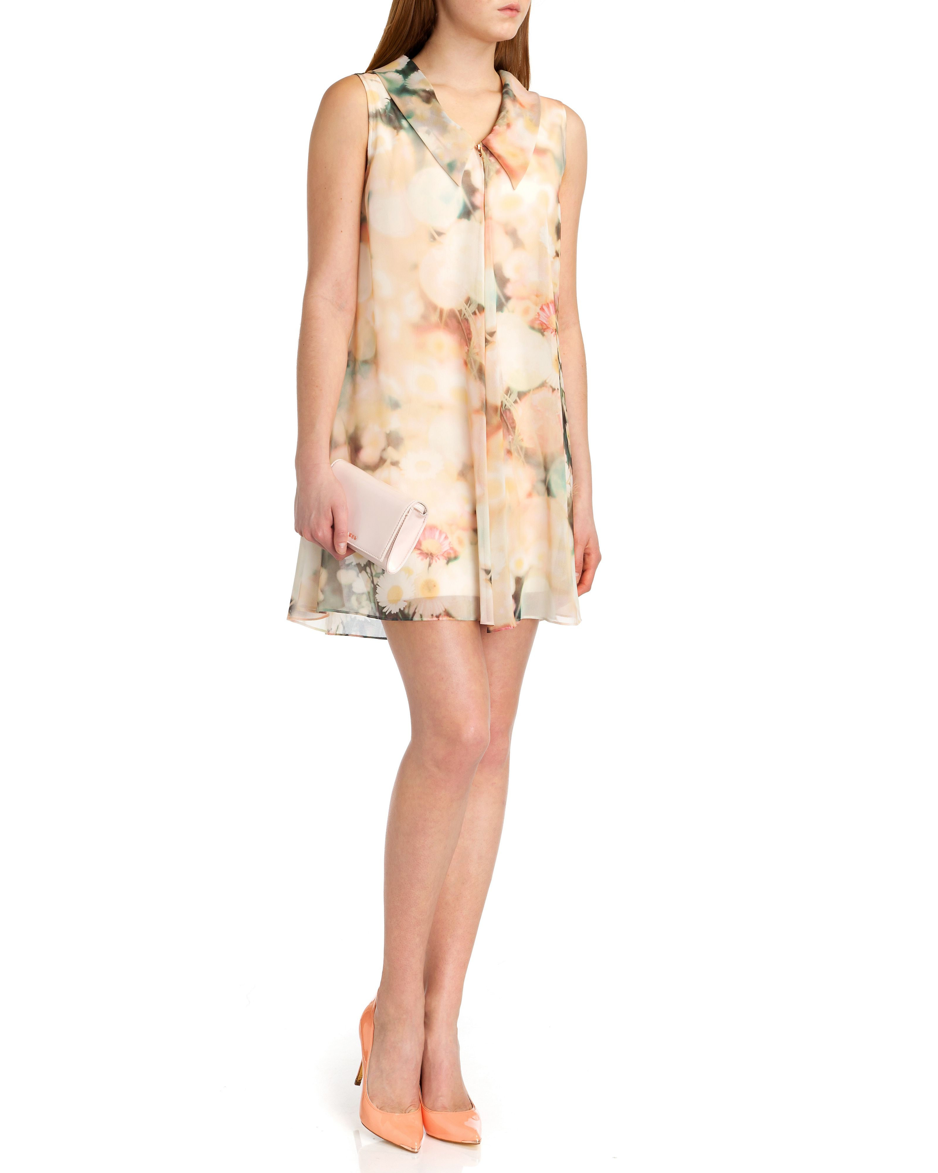 Nalow daisy print tunic dress