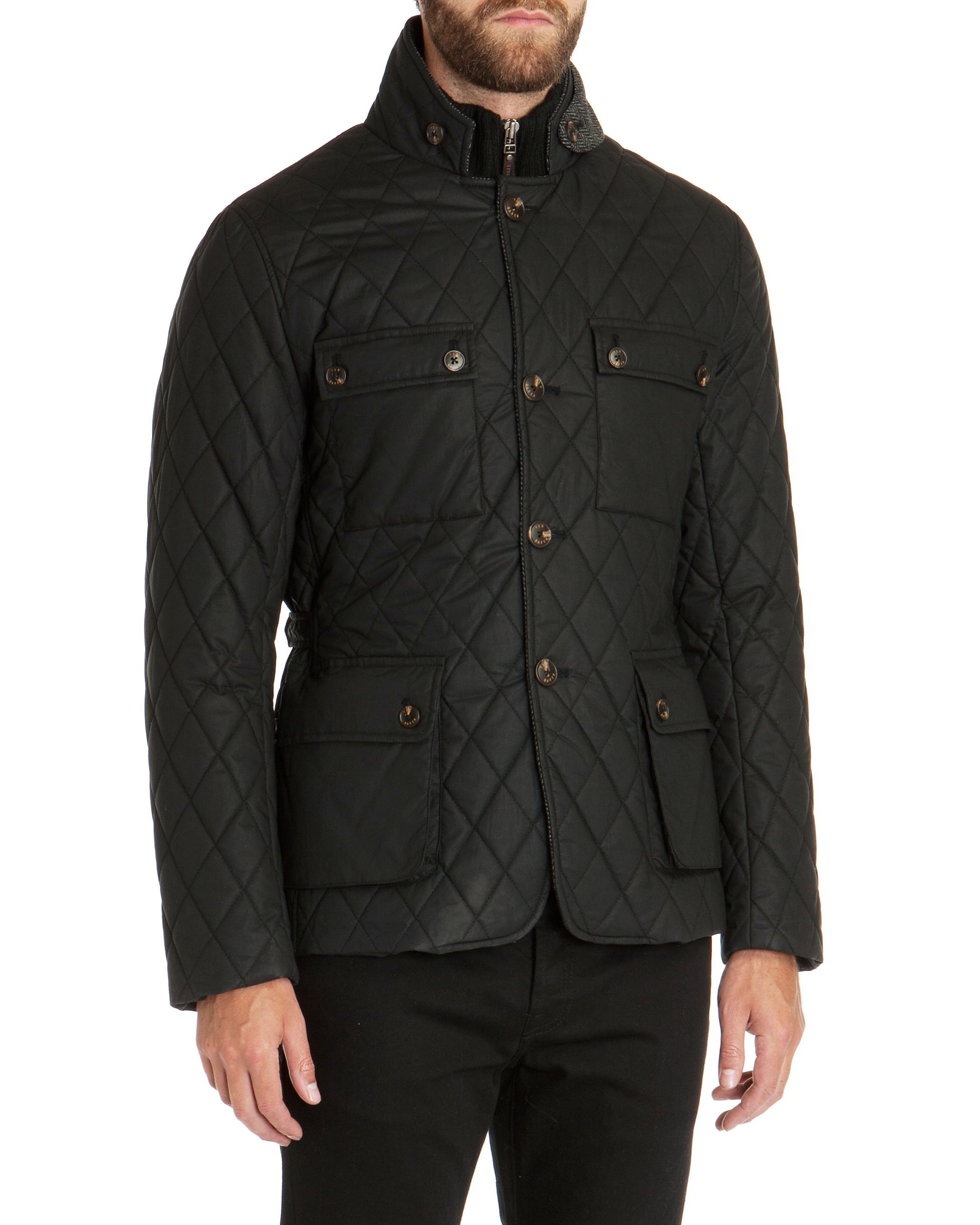 Kemond diamond quilted jacket